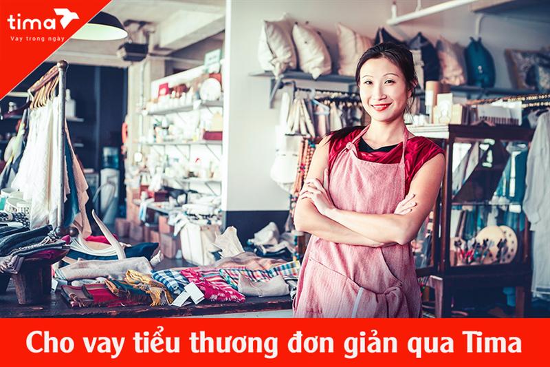 Cho vay tiểu thương chợ thủ tục đơn giản, lãi suất thấp