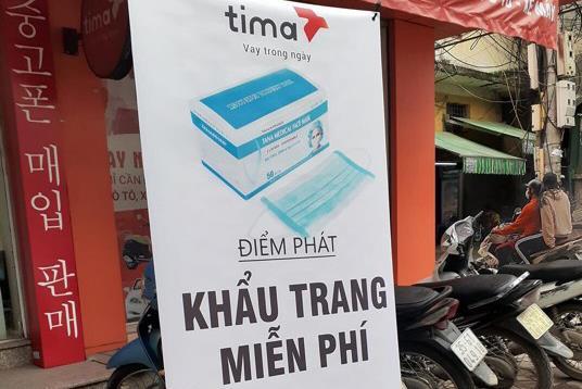 Tima - Đồng hành cùng cộng đồng ngăn ngừa virus Corona